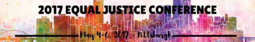 2017 Equal Justice Conference Logo
